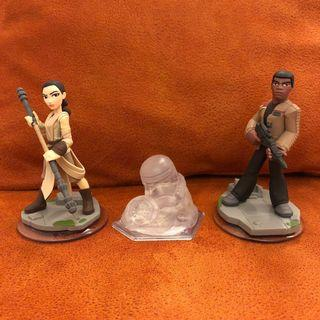 Disney Infinity: Star Wars (3.0 Edition) Star Wars The Force Awakens Play Set (includes Rey and Finn Figures) #EndgameYourExcess