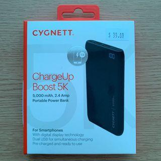 CYGNETT ChargeUp Boost 5K ( Brand New)