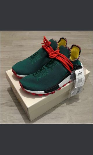 "eb0b770f582cd 100% Authentic Adidas Solar Hu NMD Trail x Pharrell Asian Exclusive  colorway ""Inspiration Pack"
