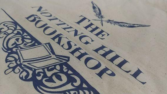 brand new canvas tote notting hill bookshop individualistic roomy bag #endgameyourexcess