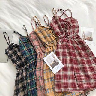 PO   Checkered Dress