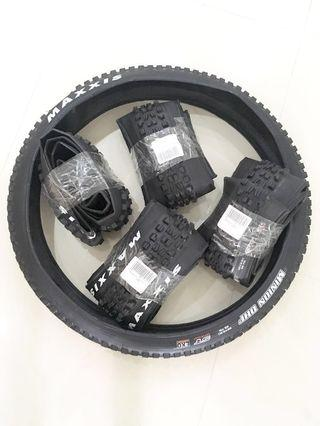 "2 X Maxxis Minion DHF 26"" X 2.5 ( Limited Stock )"