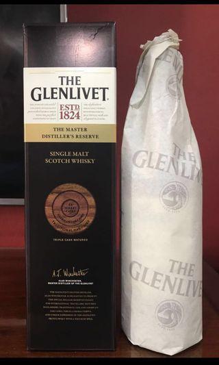 Glenlivet Master Distiller's Reserve Single Malt Scotch Whisky