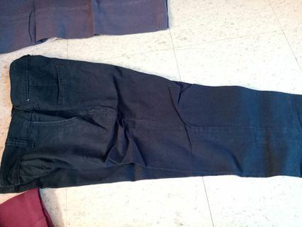 Celana hitam bahan factor. Original. Murah