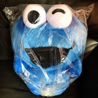芝麻街Cookie Monster大公仔