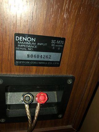 WTS/WTT Denon Bookshelf Speaker (SC M70)