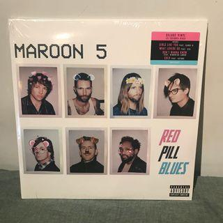 Maroon 5 - Red Pill Blues-  red Limited Vinyl LP 黑膠唱片