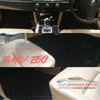 Tailor made luxury car mats BMW E60