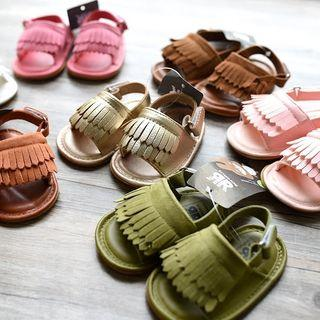 (Free Normal Mail)Ready Stocks Baby Romirus Sandals Soft Sole Anti-Slip