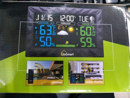 Ilifesmart weather station with alarm clock #EndgameYourExcess