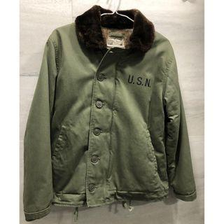 WORKWARE N1 DECK JACKET 軍綠色 外套 Army Navy