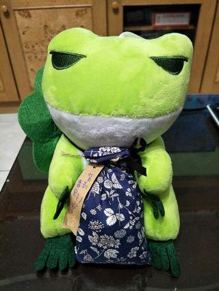 旅行青蛙-紫彩香包玩偶