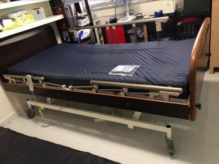 Hospital Incline Bed + Airmattress