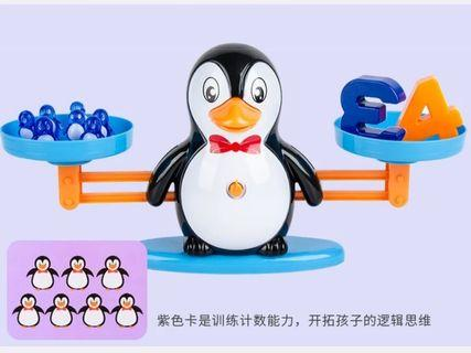 🚚 Balancing Scale Toy ( Penguin design)