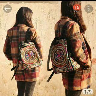 backpack unik (gambar waktu beli)