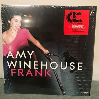 Amy Whinehouse - Frank 180g with mp3 download Vinyl LP 黑膠唱片