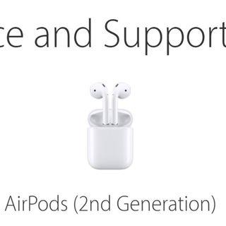 Sealed BN Apple Airpods [2nd Gen] with Warranty