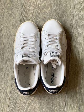 Adidas Originals Stan Smith 男女藍白款