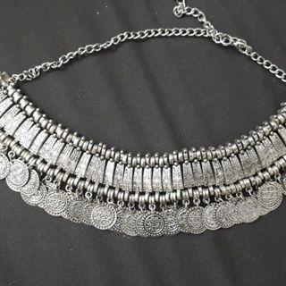 Brand New Boho Collar Coin Necklace