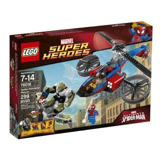 LEGO 76016 Marvel Super Heroes Spider-Helicopter Rescue @ 15% off