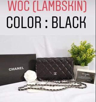 Chanel WOC NEW (100% Genuine leather) RM850 FREE SHIPPING