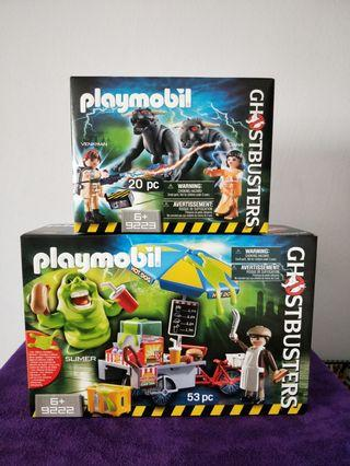 Clearance... Playmobil 9222 And 9223 Ghostbuster Sets