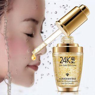 ❴APRIL PROMO❵🍃BIOAQUA 24K Gold Skin Care Serum with Hyaluronic acid+Collagen For Anti-Aging