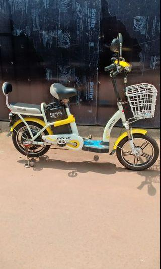 Sepeda Listrik selis butterfly #cintabumi