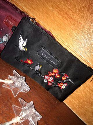 Long Champ wallet (hand embroidery)