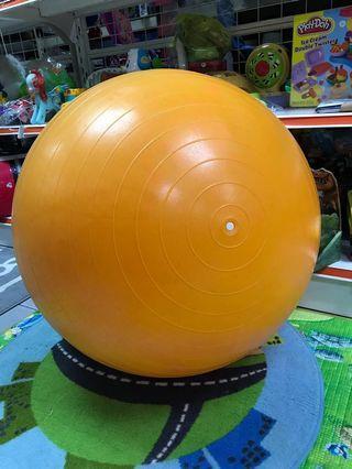 Energetic Exercise Fitness Gym Ball Orange