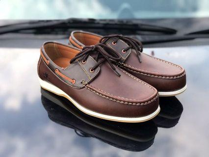 👟 TIMBERLAND ROPE BROWN 🔺COPY1.1 📏 Size 40-45 Timberland Loafer   🎁 FREEGIFT