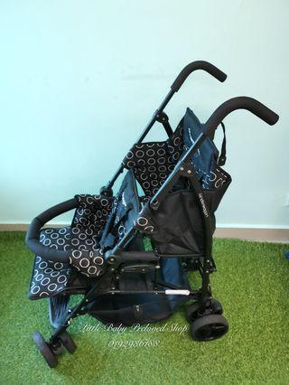 Kinderwagon twin tandem stroller