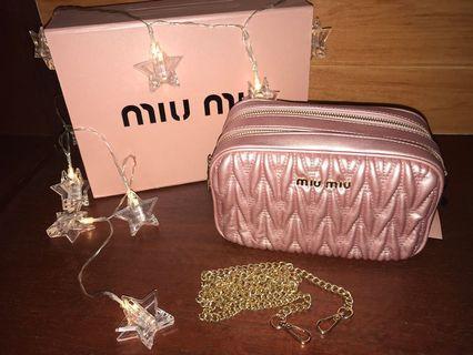 MIU MIU Shoulder bag / crossbody bag (original order)