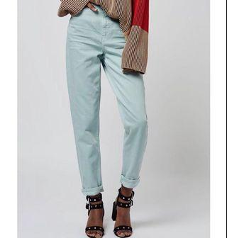BNWT Topshop Mint Mom Jeans