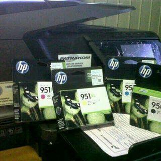 Menampung berbagai macam tinta printer baru maupun yang bekas