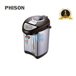 Phison Stainless Steel Electric Thermo Pot Thermopot - 4.0 Liters (PTP-1402)