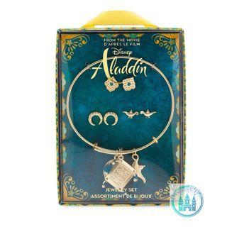 🇺🇸US disneystore Aladdin 真人版電影Jewelry Set