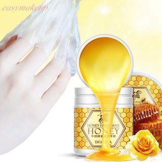 ❴APRIL PROMO❵🍃BIOAQUA Honey Milk Essence Nourishing Whitening Peel-Off Mask Wax