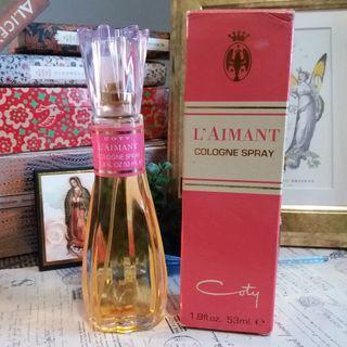 ✨ 古董香水 適合收藏 🌾 L'Aimant By Coty Womens Cologne Spray 53ml ✨
