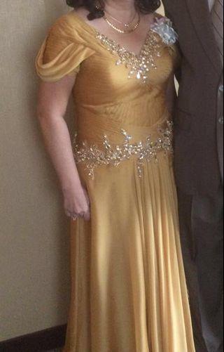 #sharethelove GOLD DRESS SWAROVSKI ASLI