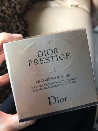 四月優惠 包順豐 公價$1350 Dior prestige eye cream 玫瑰花蜜活顏再生眼霜 15ml