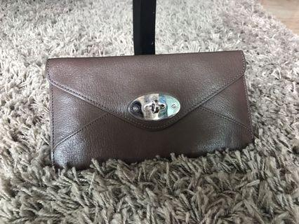 Price slashed-mulberry wallet