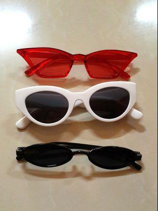 [3pcs] Sunglasses kacamata korea