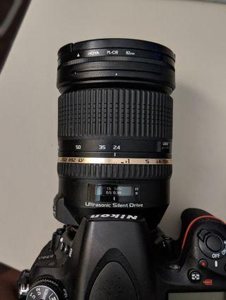 Tamron SP 24-70mm f2.8 VC USD Di (Nikon mount)