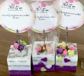 Memo Holder Scented Customised Gift