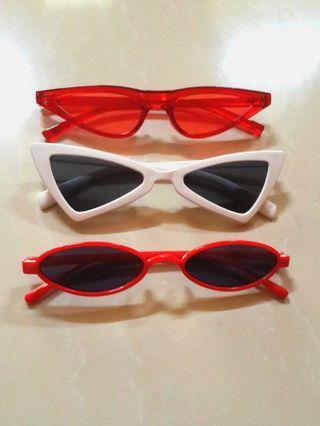 [3 pcs] Sunglasses Kacamata Korea Miniso