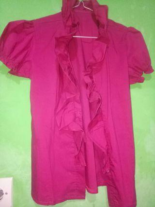 Baju Kerja Pink cantik