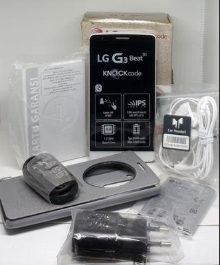 LG G3 Beat 3G Segel Box Kondisi Baru 100% ,Model Elegan