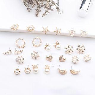 #826 harujuku uzzlang pearl tumblr Korean Style Earrings | po