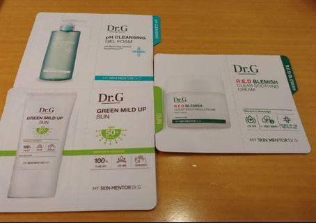 Dr. G sample3件 (包郵)